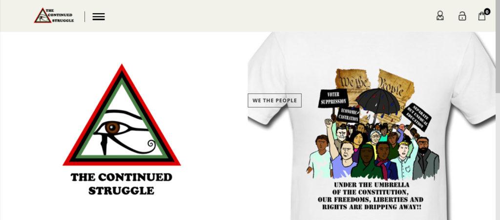 The Continued Struggle Website