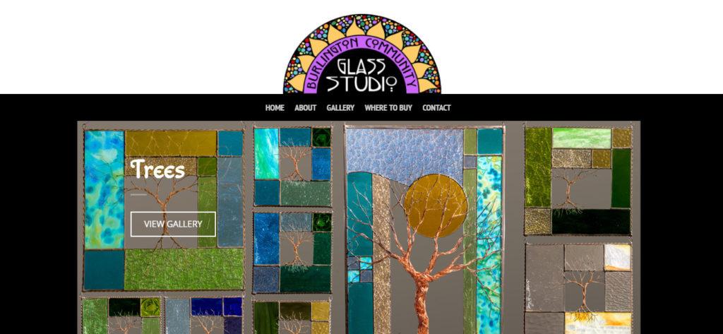 Burlington Community Glass Studio link to website